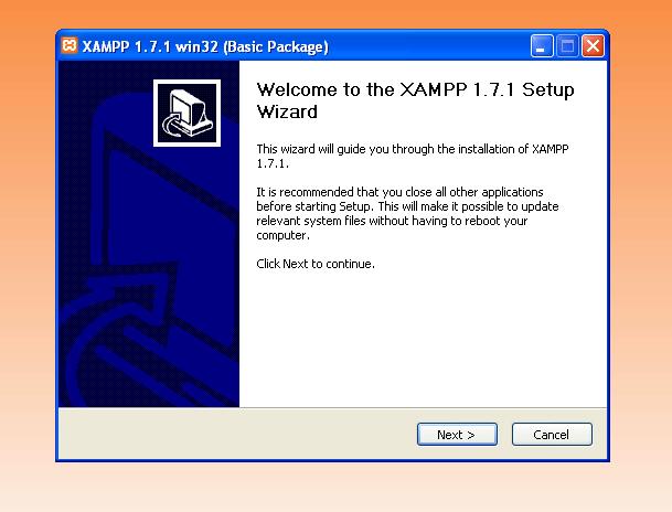 התקנת XAMPP
